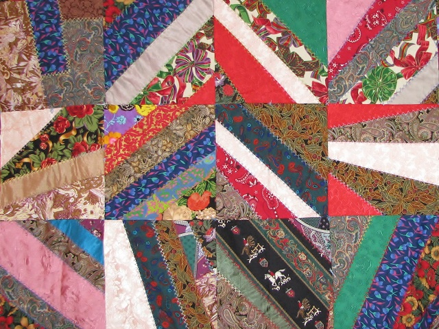 Crazy Patch Quilt Photo 8