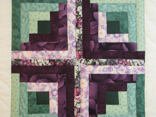 Cross Stitch Log Cabin Quilt Photo 6