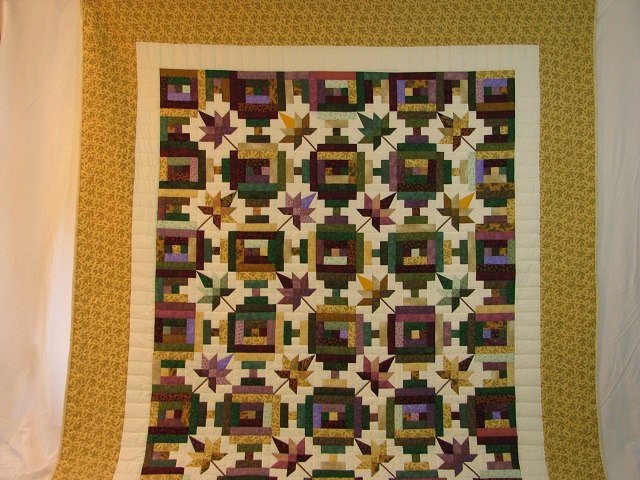 Bright Court Step Autumn Splendor Quilt Photo 2