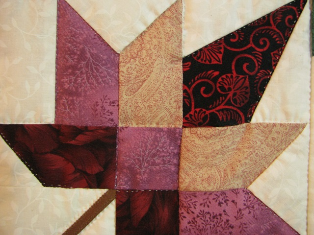 Bright Court Step Autumn Splendor Quilt Photo 5