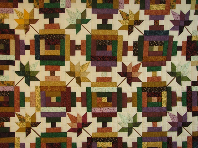 Bright Court Step Autumn Splendor Quilt Photo 8