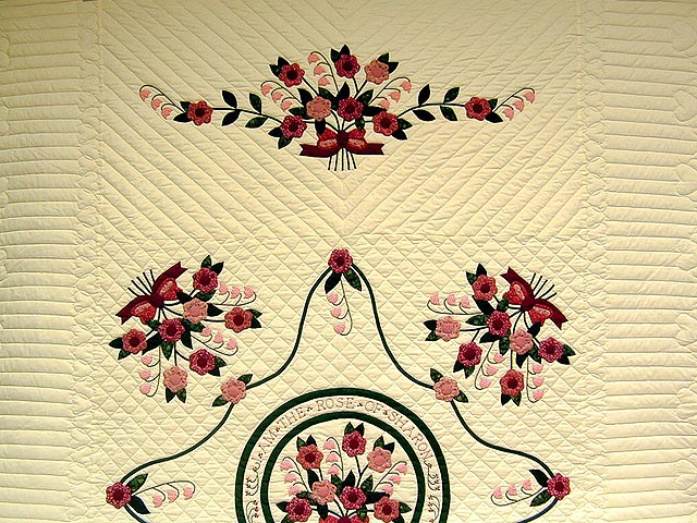 Lily of the Valley Quilt Photo 2