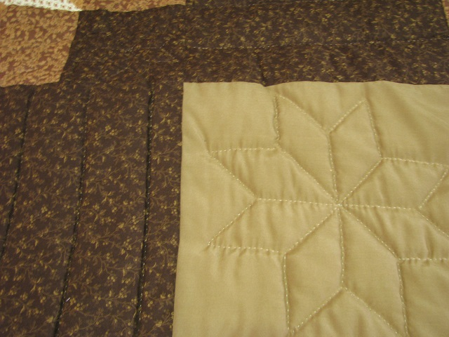 Chestnut Brown Horse Star Quilt Photo 7