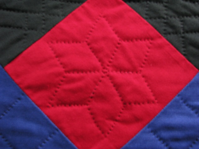 Amish Center Diamond Quilt Photo 8