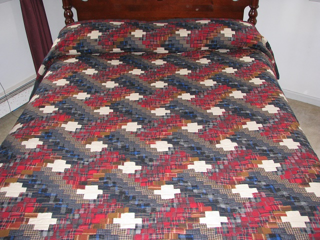 Wool Plaid Weaver Fever Quilt Photo 1