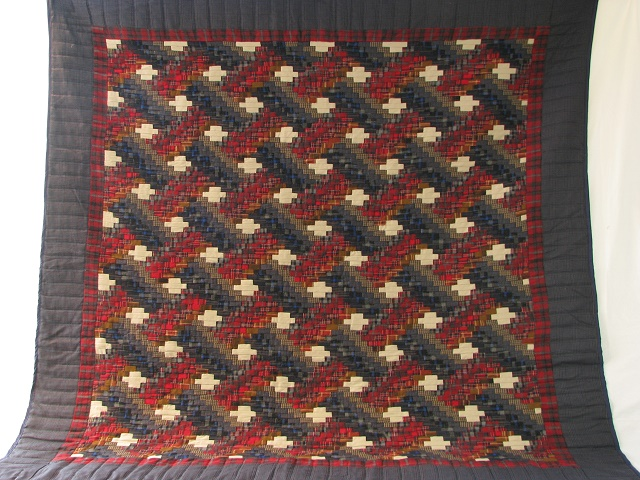 Wool Plaid Weaver Fever Quilt Photo 2