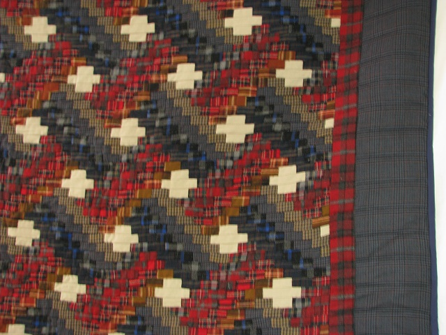 Wool Plaid Weaver Fever Quilt Photo 3