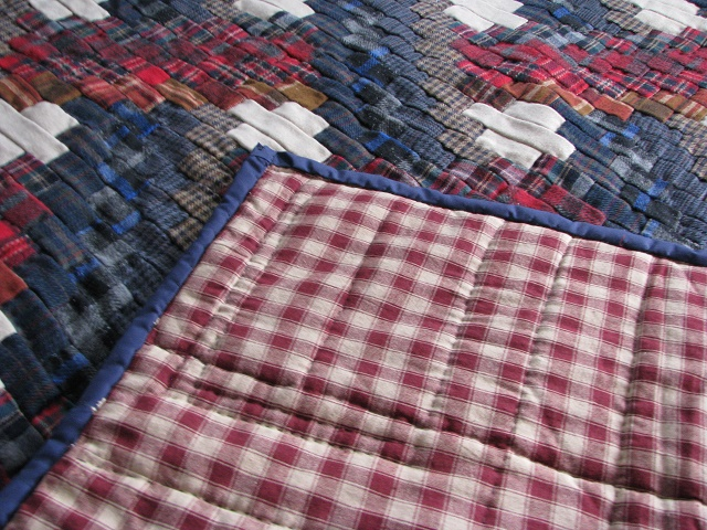 Wool Plaid Weaver Fever Quilt Photo 4