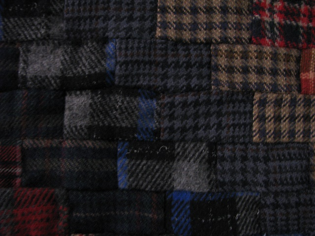 Wool Plaid Weaver Fever Quilt Photo 6
