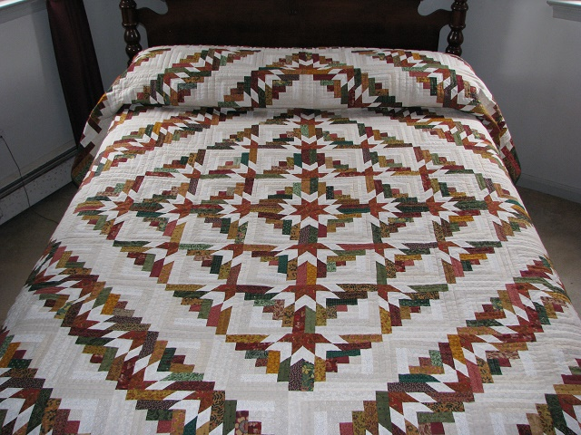 Timberline Log Cabin Quilt Photo 1