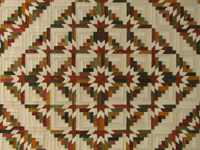 Timberline Log Cabin Quilt Photo 3
