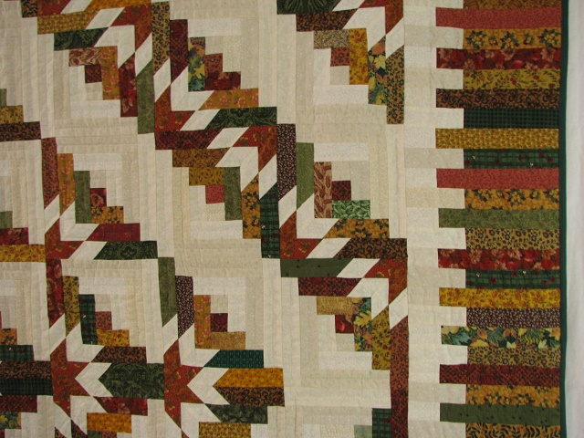 Timberline Log Cabin Quilt Photo 4