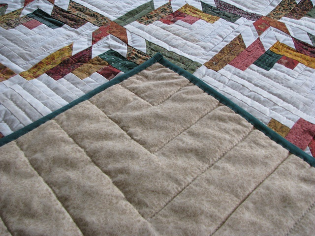 Timberline Log Cabin Quilt Photo 7