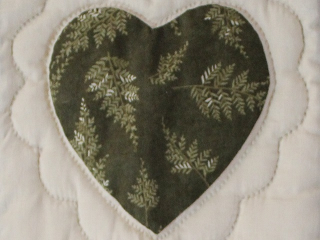 Hearts and Nine Patch Throw Photo 5