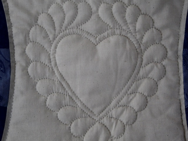 Moda Double Wedding Ring Quilt Photo 6