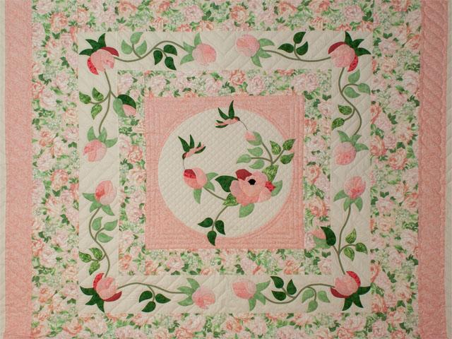 Queen Size Bed- C J Horst Original Design I Promised You a Rose Garden Photo 3