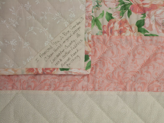 Queen Size Bed- C J Horst Original Design I Promised You a Rose Garden Photo 6