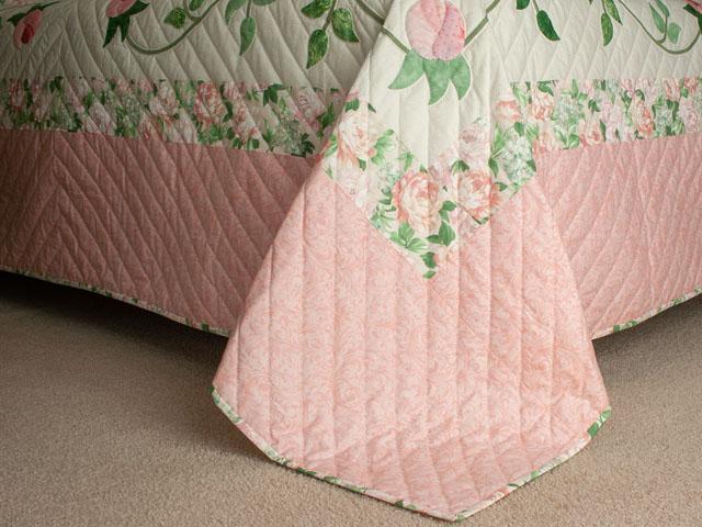 Queen Size Bed- C J Horst Original Design I Promised You a Rose Garden Photo 7
