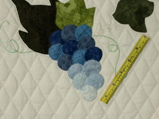 C J Horst Original Design Petal Showcase QUEEN Size Quilt Photo 8