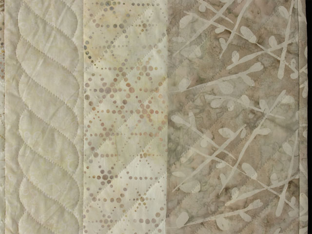 Bargello Wave in Earthy Neutrals