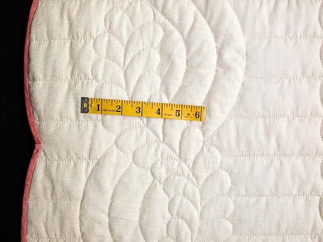 Rose and Green Country Lily Quilt Photo 7