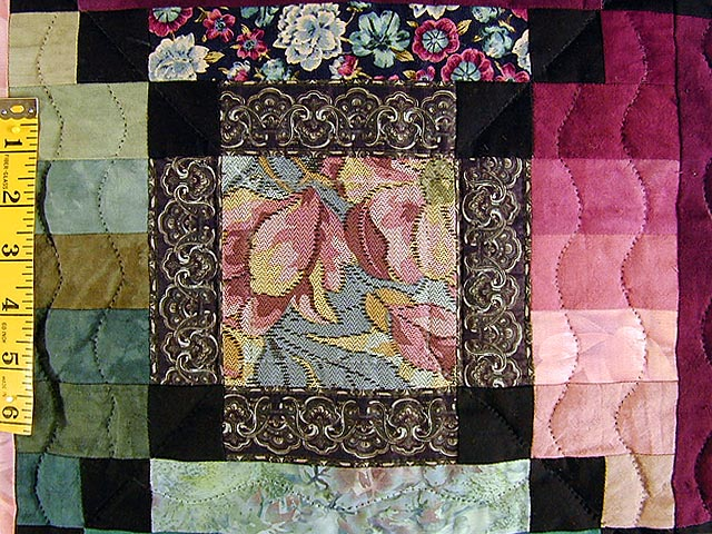 Rose and Green Sametra Wall Hanging Photo 4