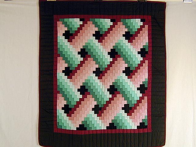 Rose and Green Weavers Fever Wall Hanging Photo 1