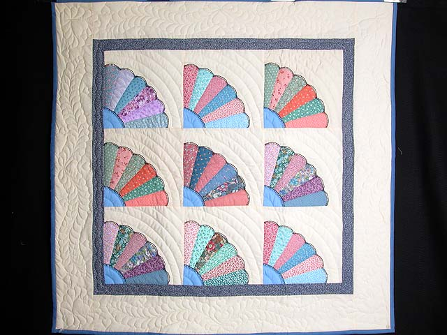 Multicolor Fans Wall Hanging Photo 1