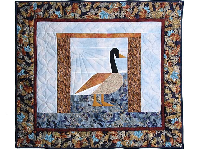 Patchwork Goose Wall Hanging Photo 1