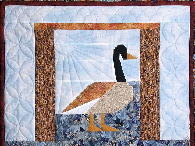 Patchwork Goose Wall Hanging Photo 2