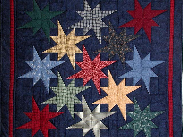 Navy Star Bright Wall Hanging Photo 2