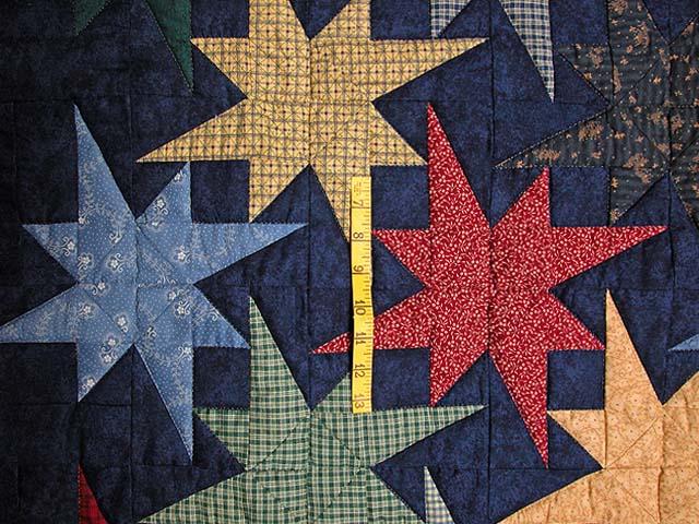 Navy Star Bright Wall Hanging Photo 3