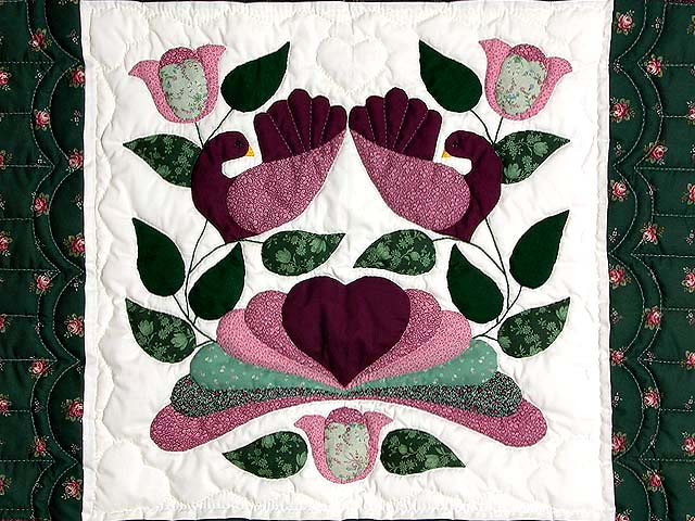 Burgundy and Green Country Bride Wall Hanging Photo 2