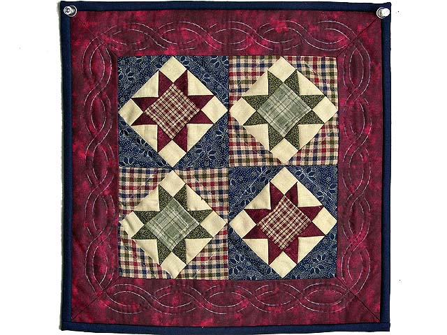 Miniature Ohio Stars Quilt Photo 1