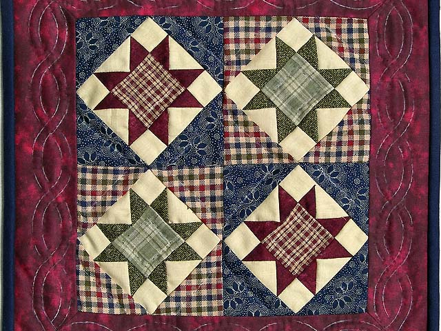 Miniature Ohio Stars Quilt Photo 2