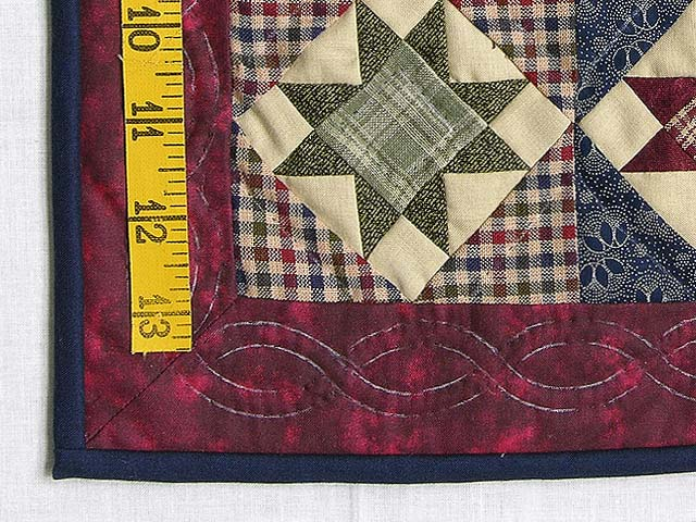 Miniature Ohio Stars Quilt Photo 3