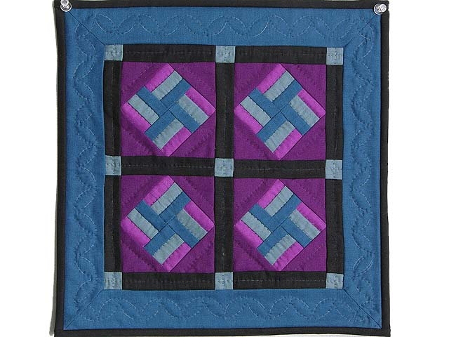 Miniature Amish Star Spin Quilt Photo 1