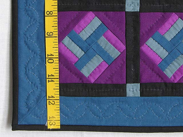 Miniature Amish Star Spin Quilt Photo 3