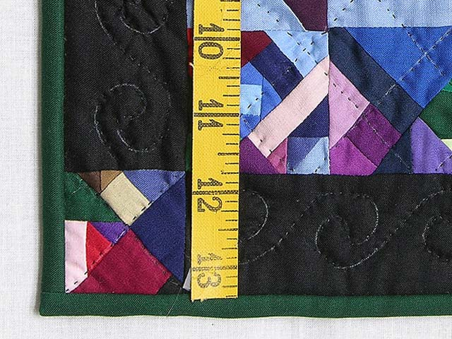Minature Almost Amish Crazy Quilt Photo 3