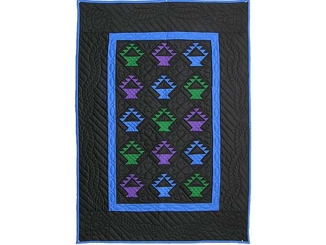 Amish Baskets Crib Quilt Photo 1