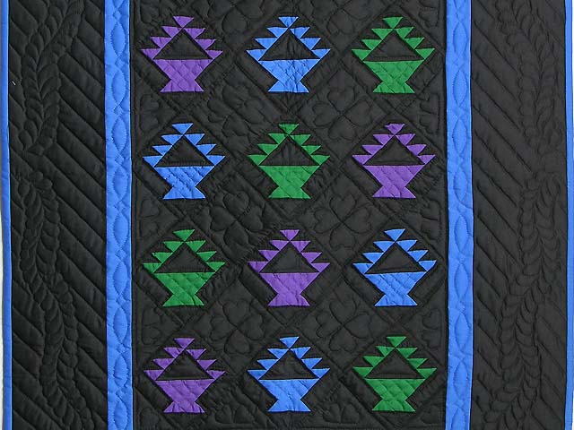 Amish Baskets Crib Quilt Photo 2