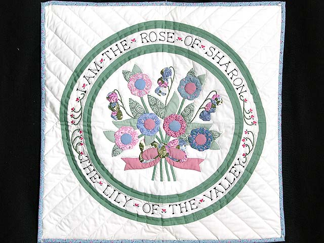 Pastel Rose of Sharon Wall Hanging Photo 1
