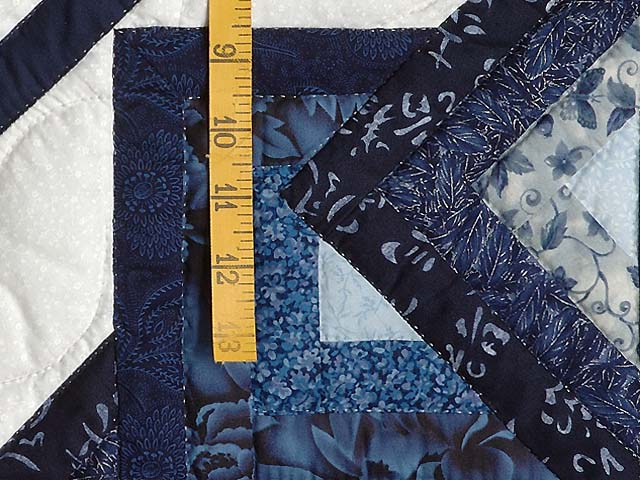 Navy and Blue Star Spin Wall Hanging Photo 4