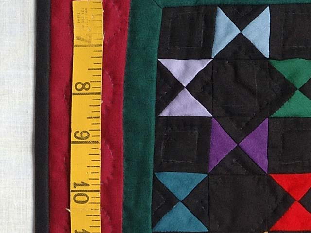 Mini Red and Green Bow Ties Quilt Photo 3