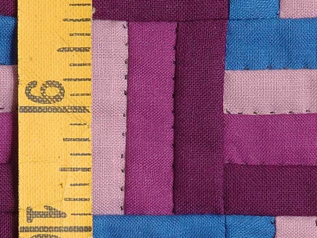 Miniature Amish Rail Fence Quilt Photo 4