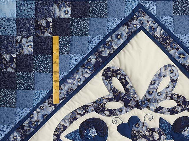 Blue Navy and Cream Country Love Trip Wall Hanging Photo 4