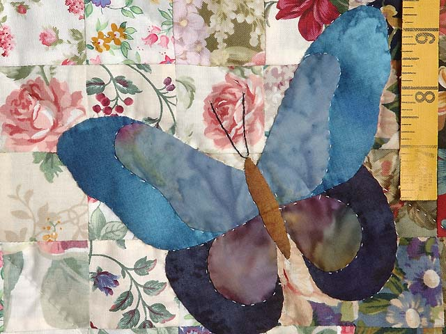 Dark Blue Watercolor The Journey Butterfly Wall Hanging Photo 4