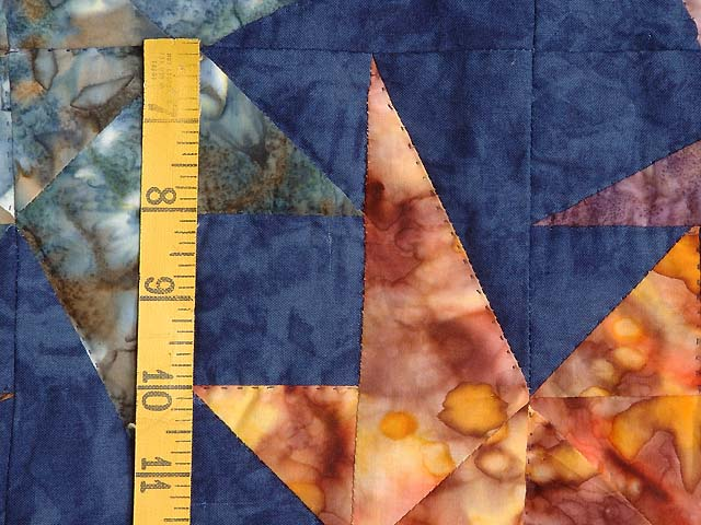 Hand Painted Navy Star Bright Wall Hanging Photo 4
