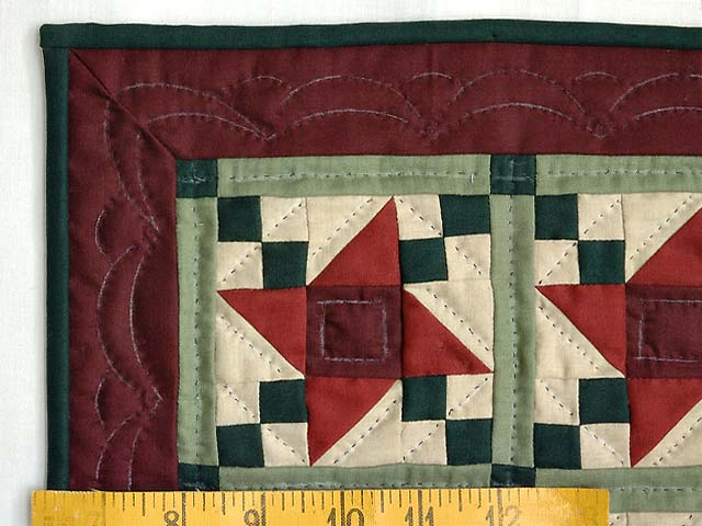 Mini Amish Friendship Star Quilt Photo 3