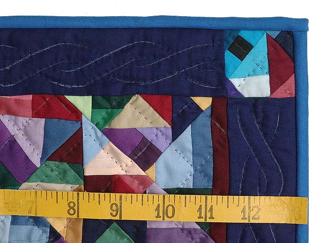 Miniature Almost Amish Crazy Quilt Photo 3